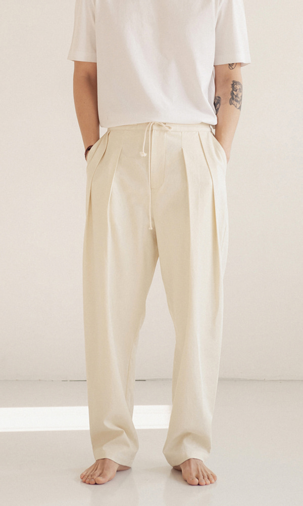 UNISEX_Cotton_Two_Tuck_Pants_iv