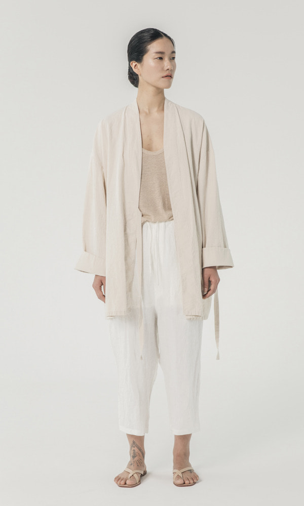 UNISEX_Washed_Linen_cotton_Robe_iv