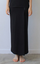 WOMAN_JERSEY WRAP SKIRT