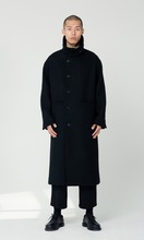UNISEX_High_Neck_Long_Coat_bk